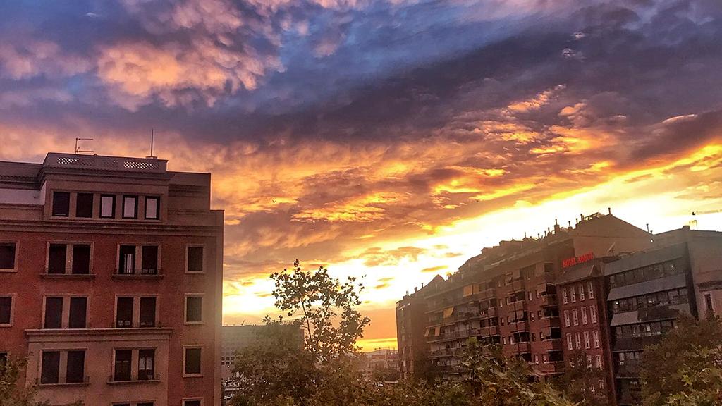 Cel rogenc a Barcelona @PereLl65