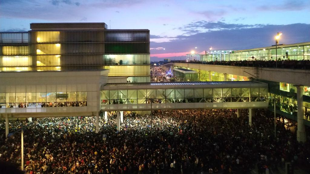 manifestacio aeroport