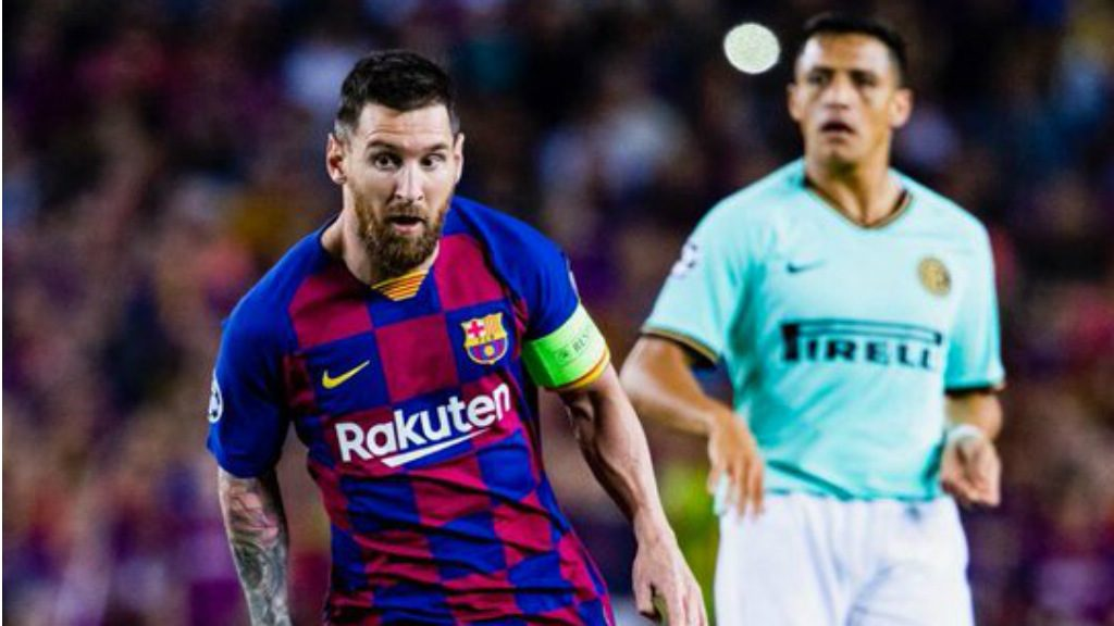 Barca Inter Champions 2019-2020 Messi