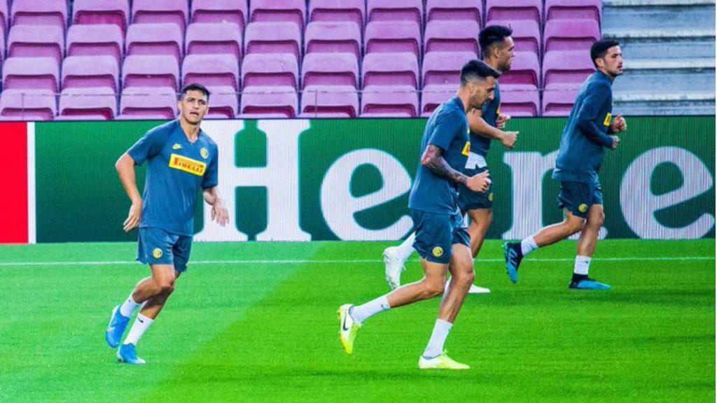 Barça Inter Champions previa Alexis