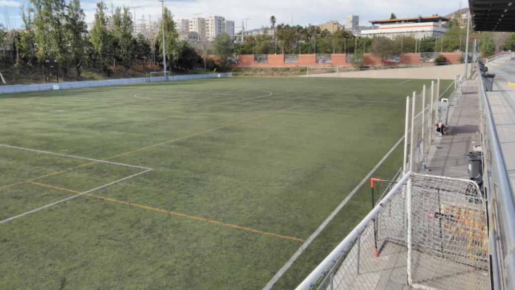 Camp futbol Trinitat Vella