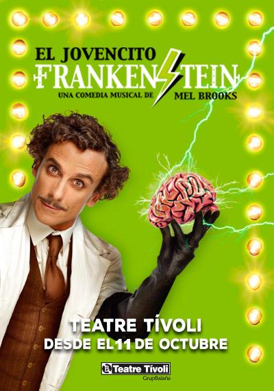 cartell el jovencito frankenstein
