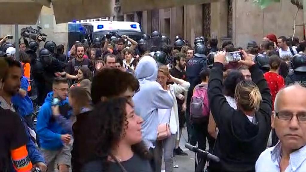 desnonament sant Bartomeu càrregues policials