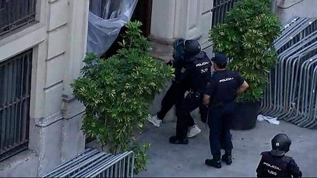 Detinguda per Policia Nacional