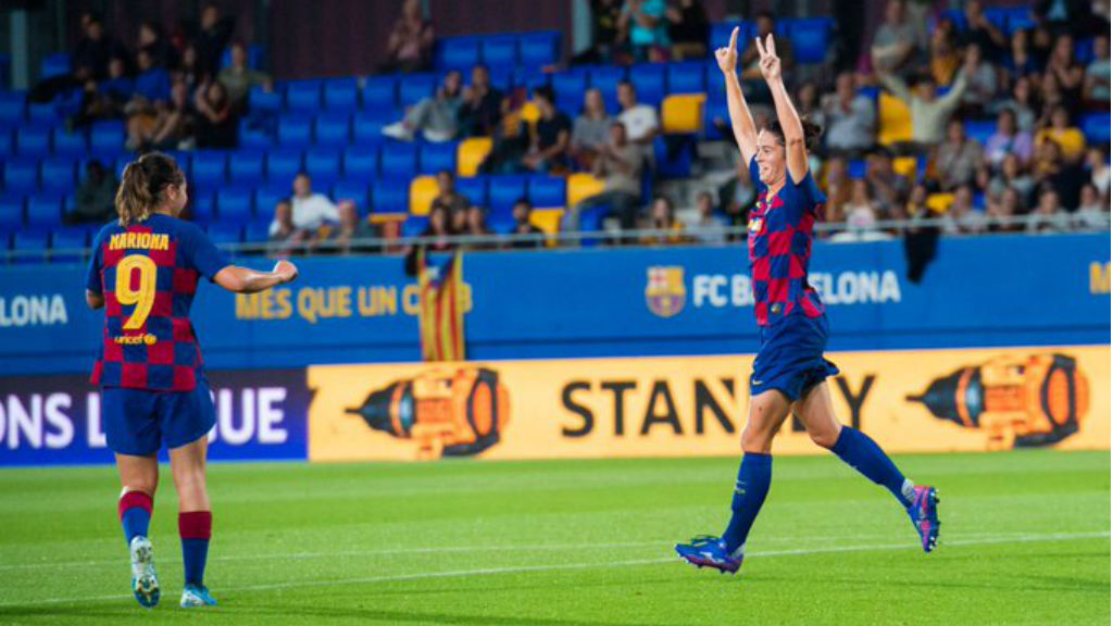 El Barça guanya el Minsk