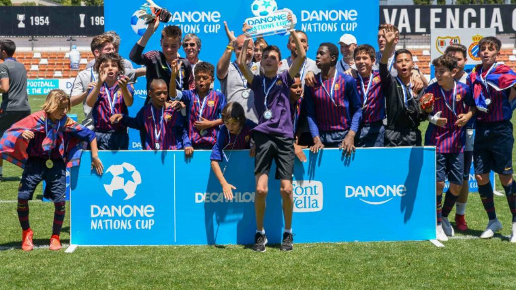 FC Barcelona, campió nacional Danone Nations Cup