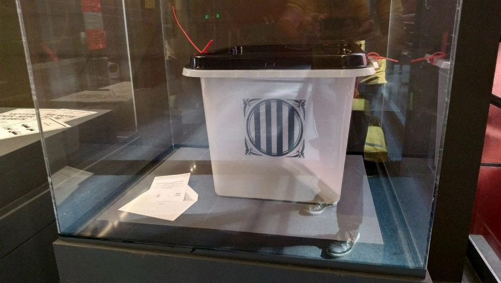 Urna 1-O al Museu d'Història