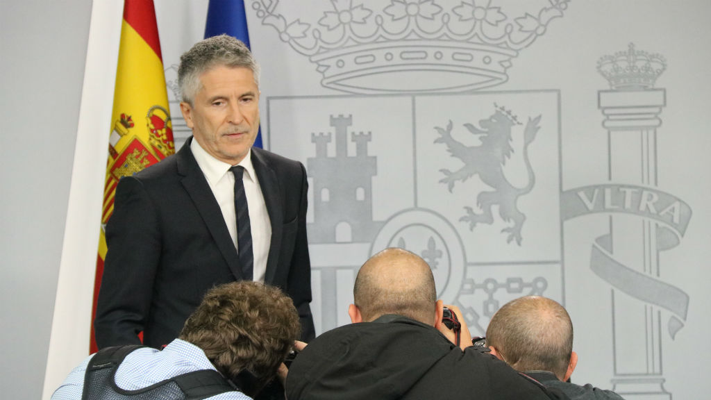 El ministre de l'Interior, Fernando Grande-Marlaska