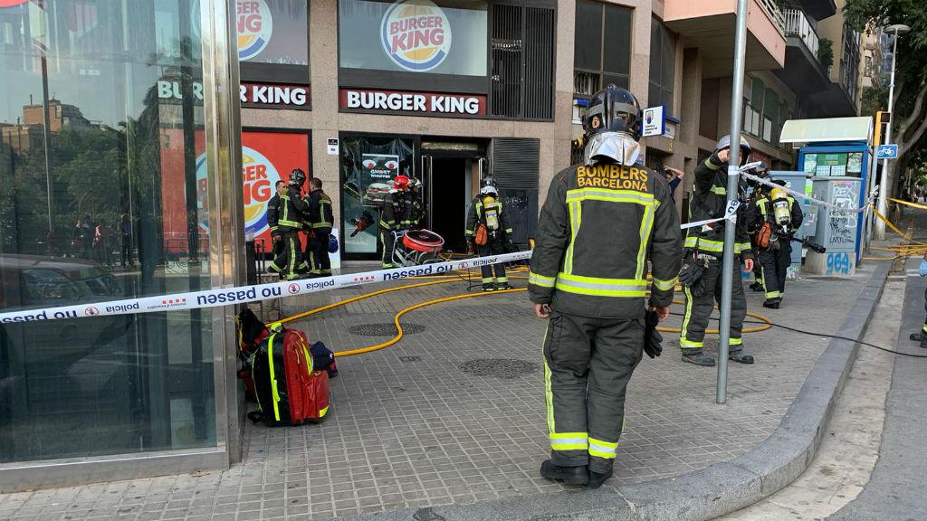 incendi burger king sagrada família