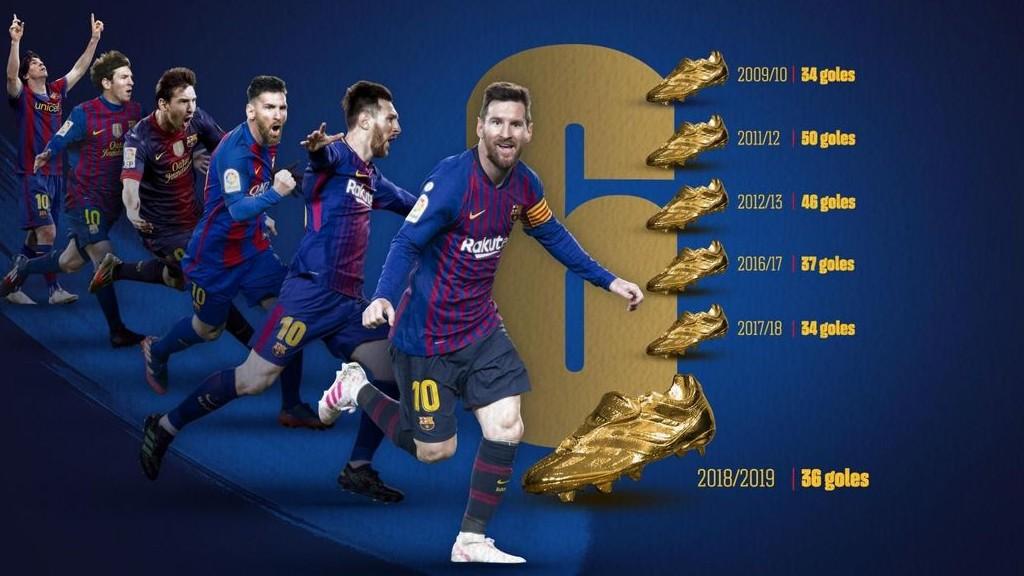 Messi Bota d'or 2019