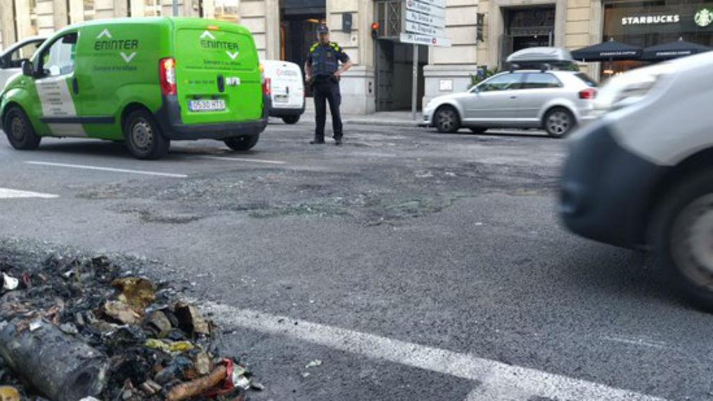 carrer aragó asfalt reparat
