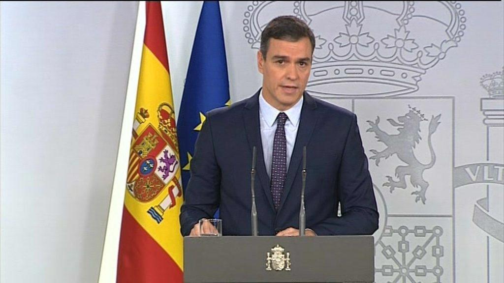 Pedro Sánchez declaració sentència procés