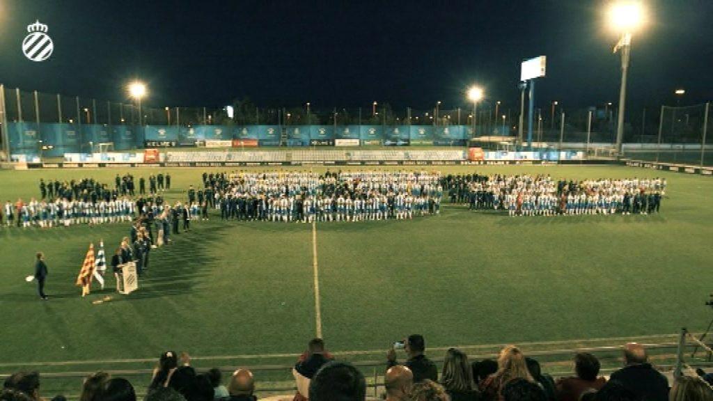 Presentació futbol base Espanyol
