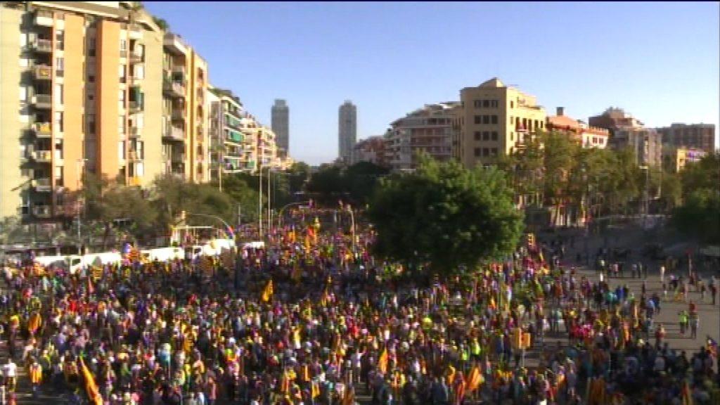 Manifestació Marina