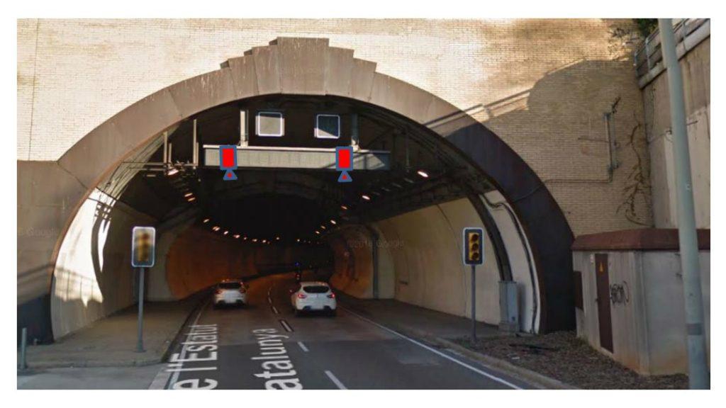 radar per tram tunel de la Rovira 1