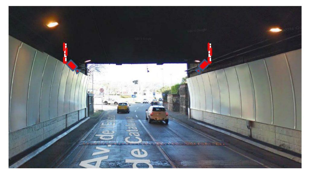 radar per tram tunel de la Rovira 2