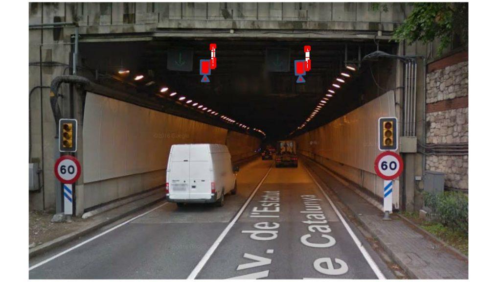 radar per tram tunel de la Rovira 3