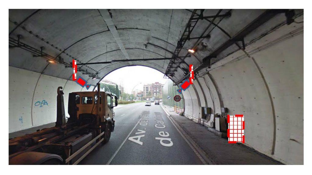 radar per tram tunel de la Rovira 4