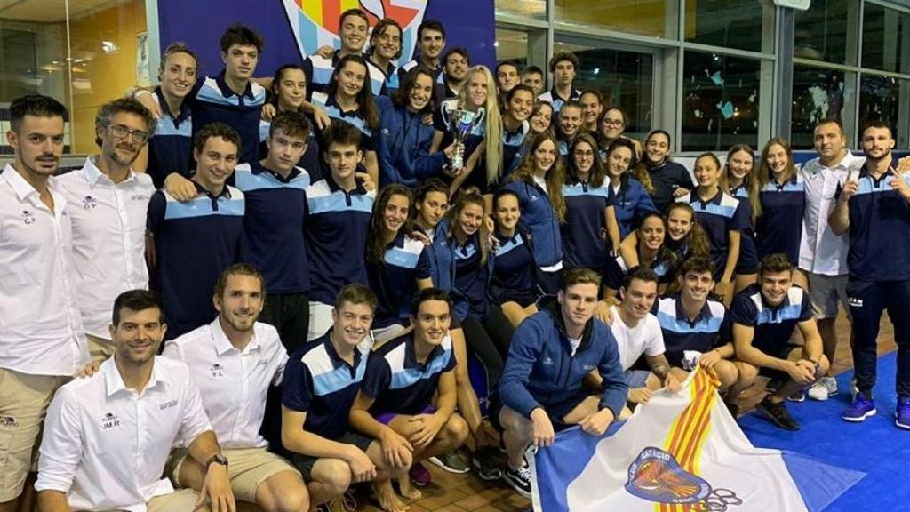 Equip natació CN Sant Andreu