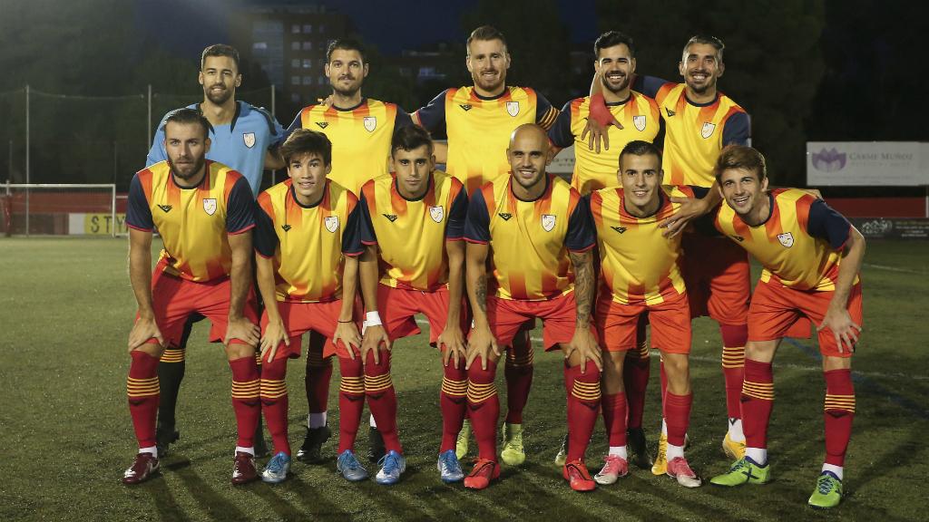 Foto selecció catalana amateur