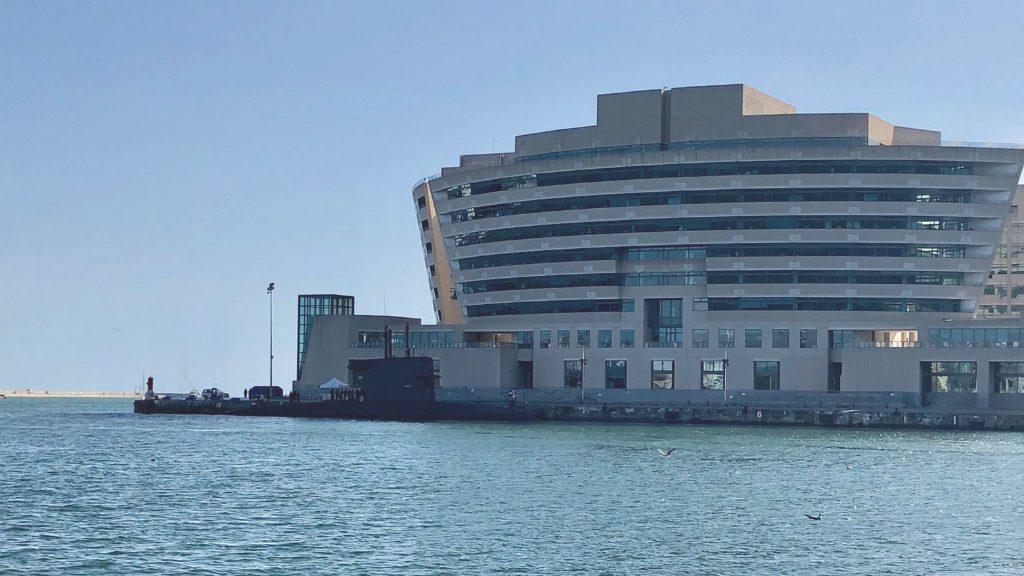Submarí al Port de Barcelona
