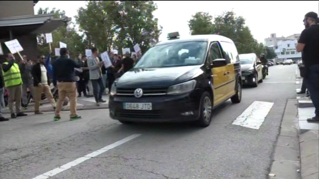 taxis protesta