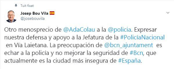 tuit Bou via Laietana
