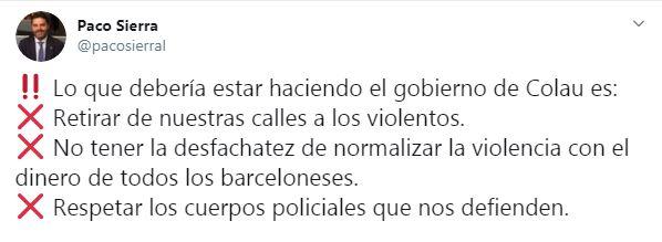 tuit Paco Sierra