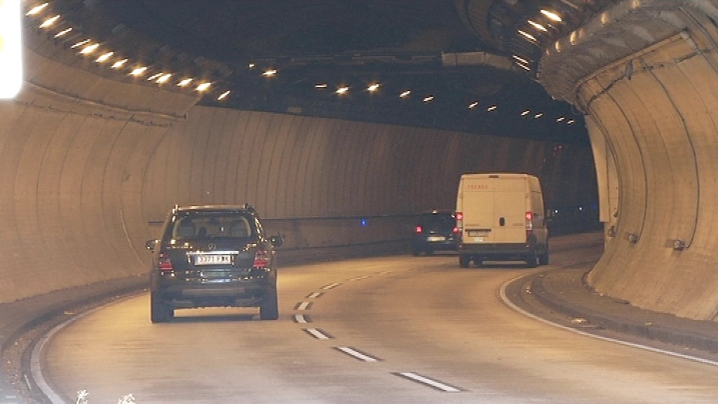 túnel de la Rovira radar de tram
