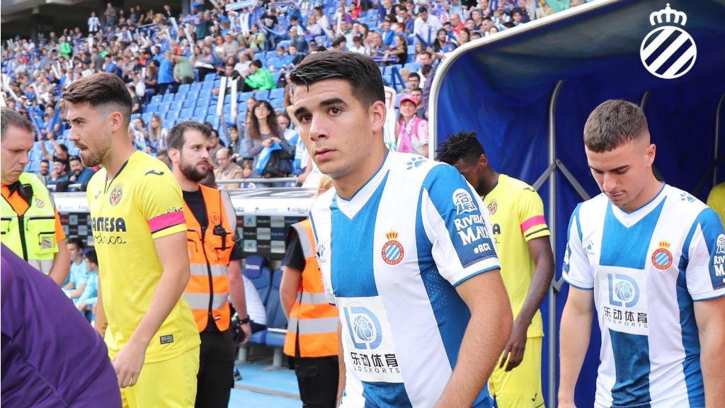 Víctor Gómez debuta amb l'Espanyol