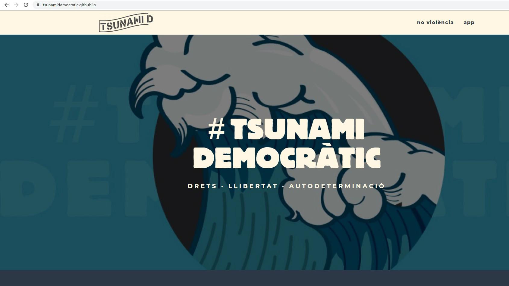 Tsunami democràtic