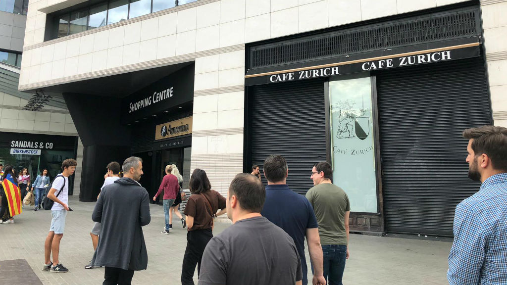 cafe zurich tancat vaga sentència procés