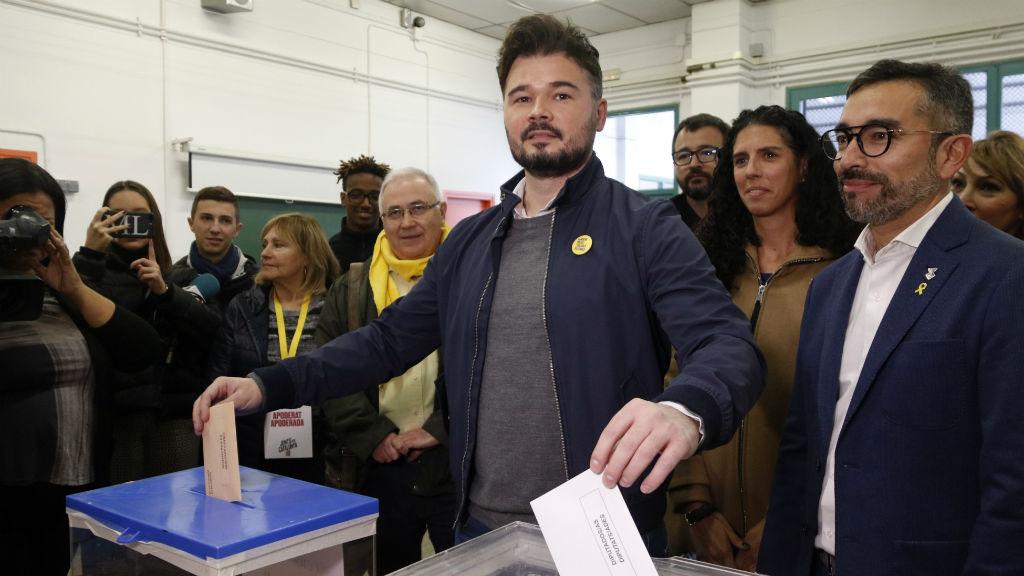 rufian vota 10n