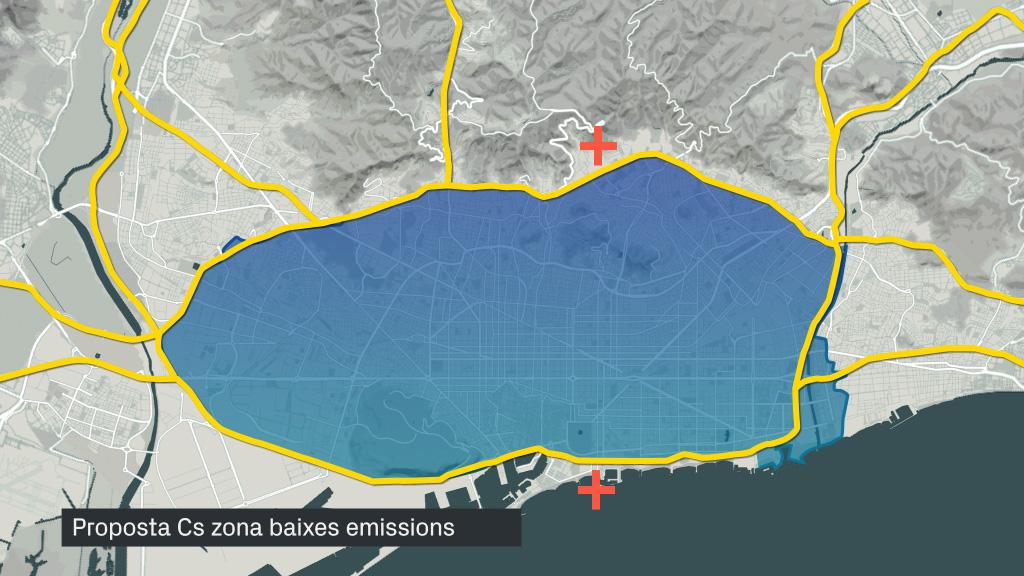 Ciutadans zona baixes emissions