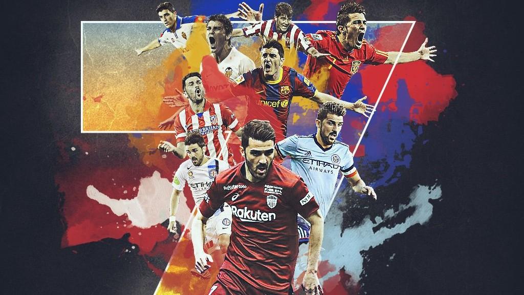 David Villa és retira coma a futbolista