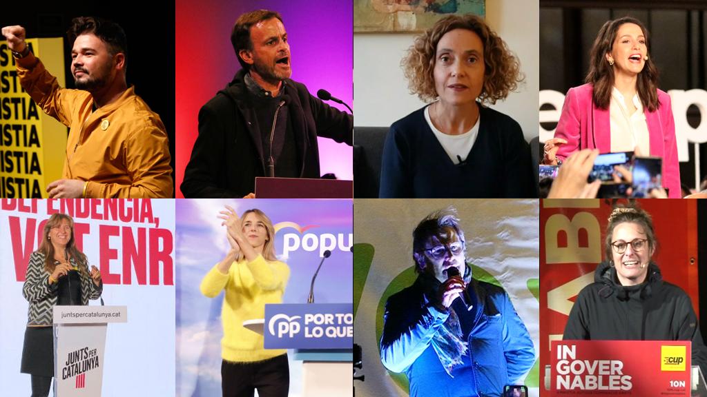 Candidats per Barcelona a les eleccions generals 2019