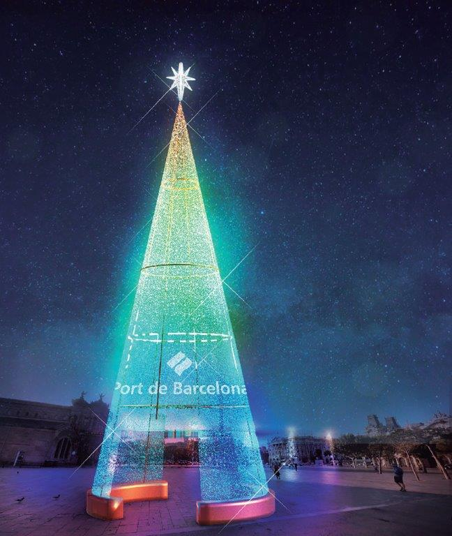 arbre nadal port vell