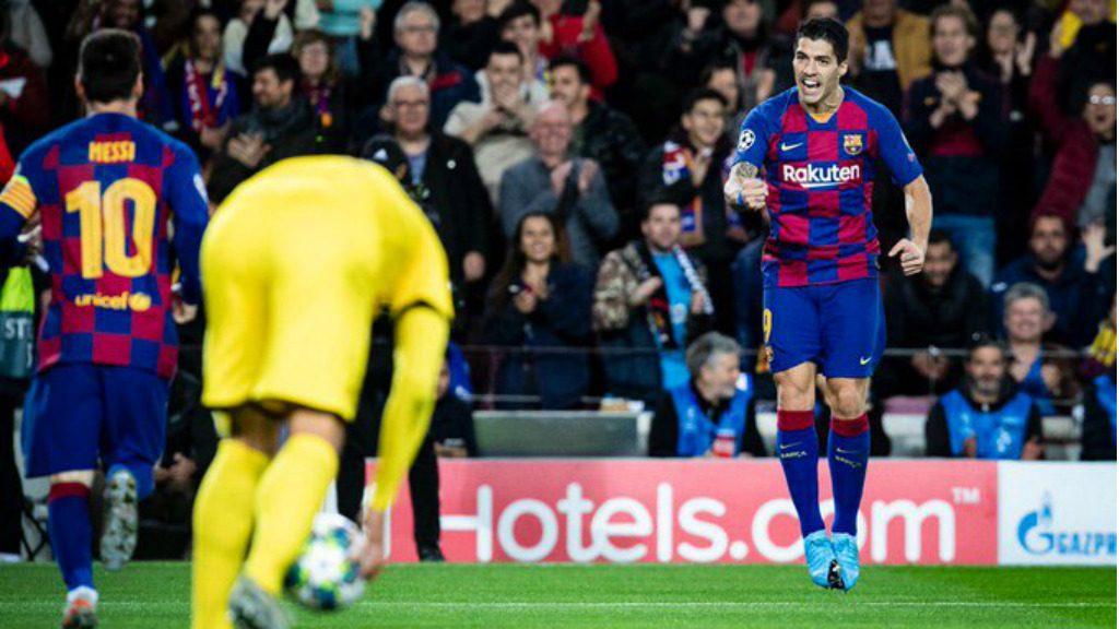 Barça Borussia Champions gol Suárez