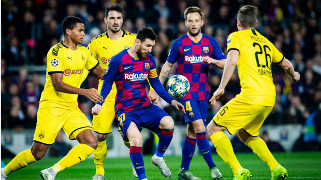 Barça Dortmund Champions 2019 Messi