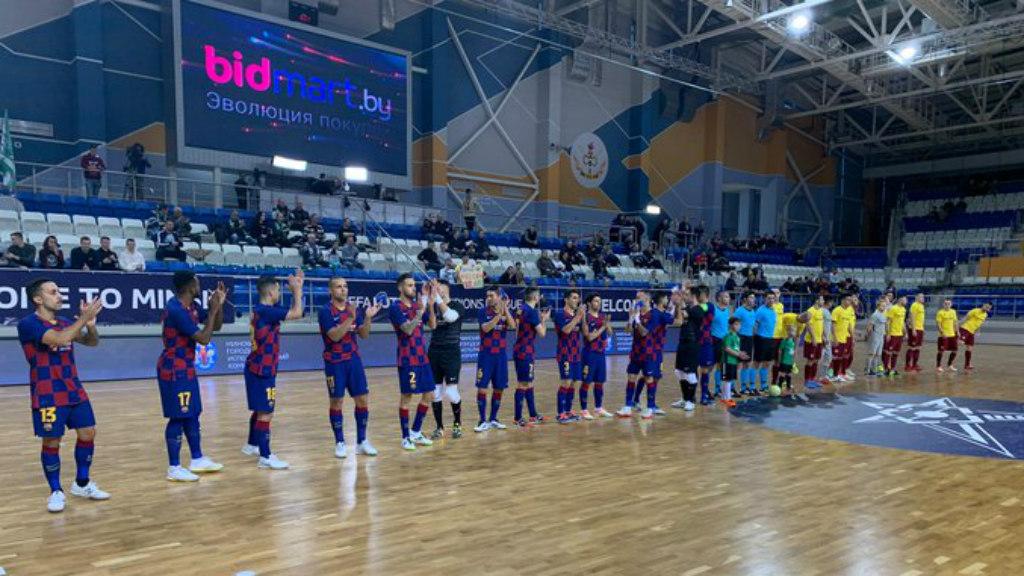 Barca Sparta Praga Elite Round 2019