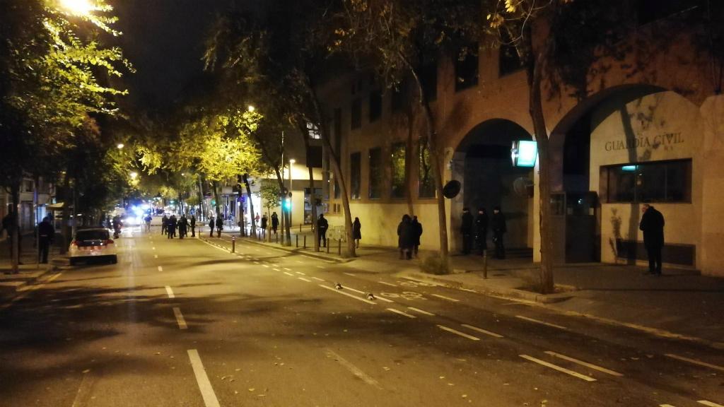 Protesta CDR detinguts 23S