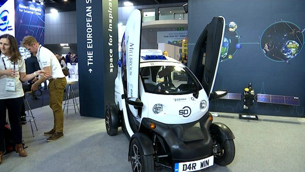 Cotxe autònom a la Smart City Expo World Congress