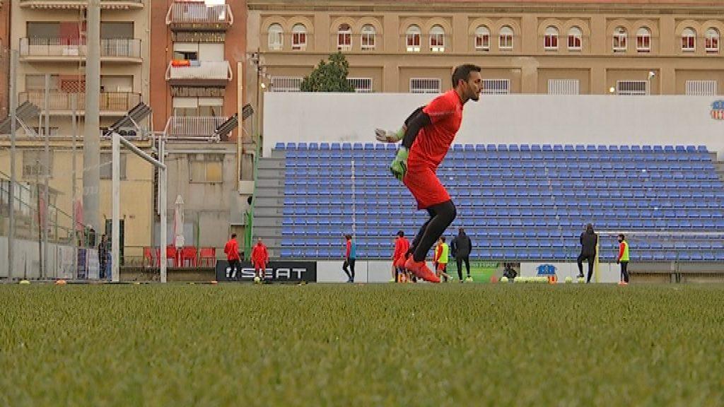 Craviotto Sant Andreu entrenament