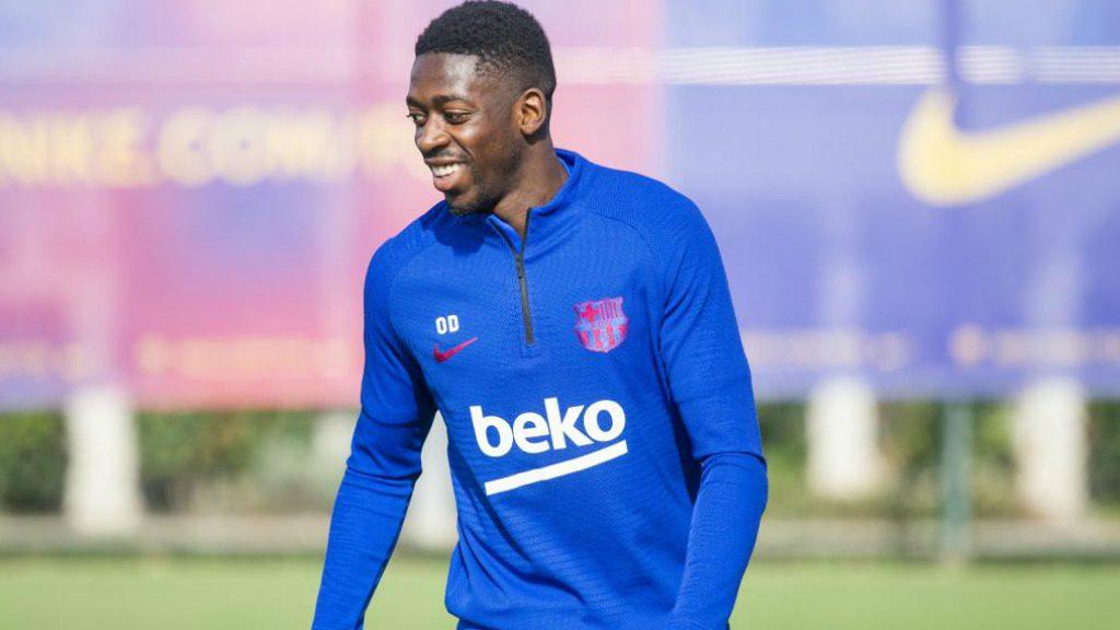 Dembelé novetat Barça Slavia