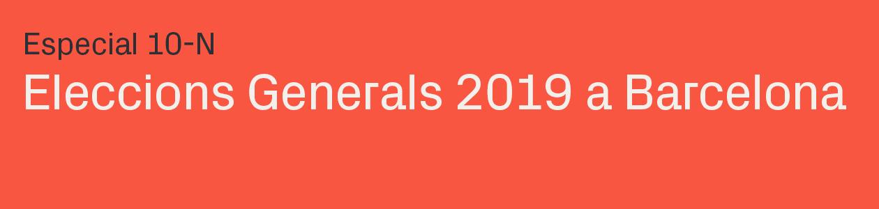 Eleccions generals 10N 2019
