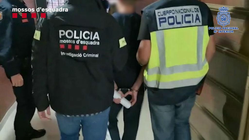detinguts mossos lladres