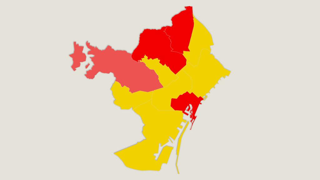 mapa resultats 10-N per districtes