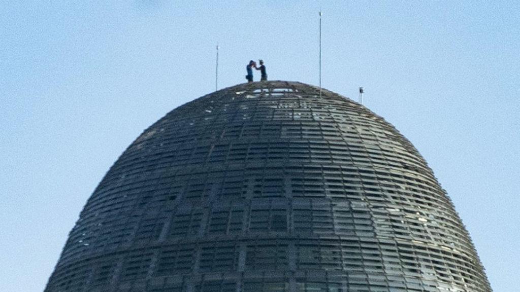 Escaladors de la Torre Glòries