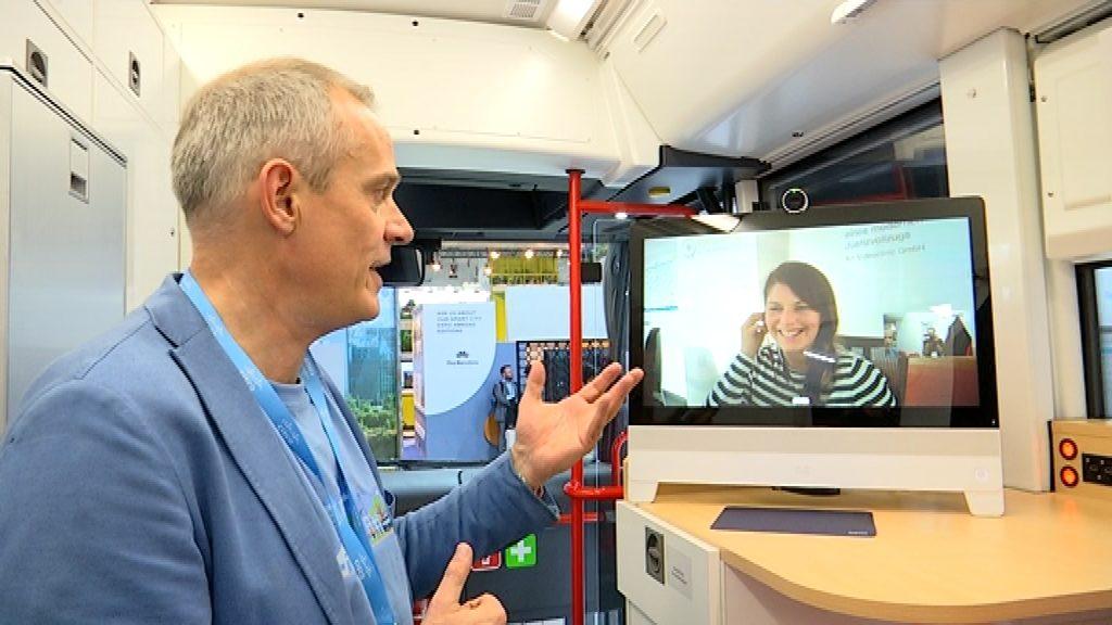 Hospital sobre rodes a la Smart City Expo World Congress