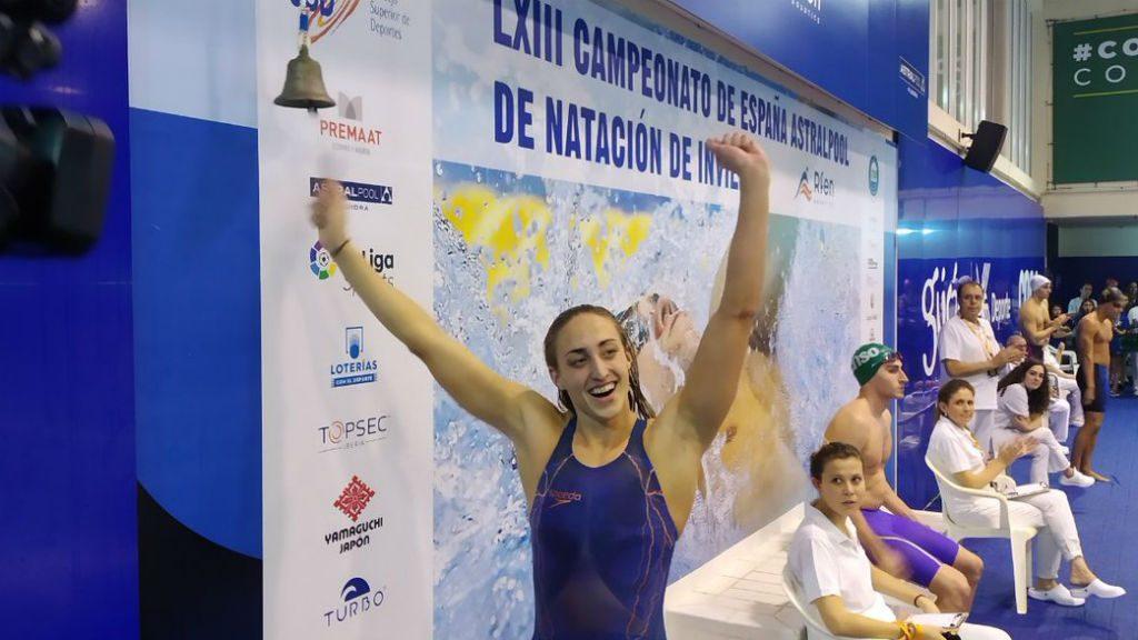 Lidón Muñoz aconsegueix cinc rècords d'Espanya